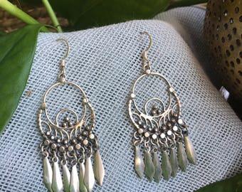Moroccan SIlver Earrings