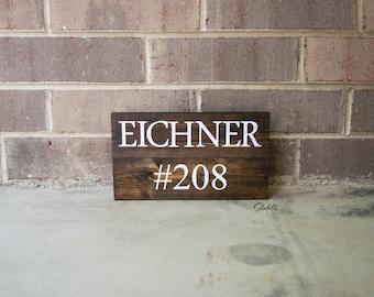 Wooden Address Sign, Wood House Sign, Address Sign, Wood House Number Sign, Custom Address Sign, Rustic Address Sign, Outdoor Sign, Rustic