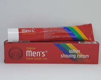 Vintage Estoril, Classic Lather Shaving Cream Rich in Lanolin, SMOOTHING PROPERTIES - 100ML