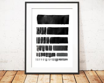 Poster/Wall Art Download: Black becomes Grey (printable)