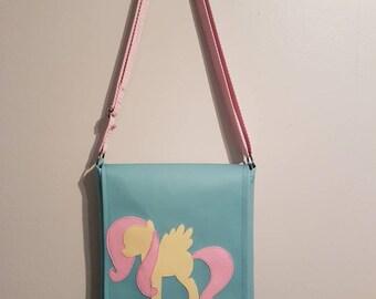 Fluttershy Vinyl Shoulder Bag