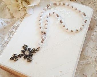 Anglican Prayer Beads - Christian Rosary - Faith