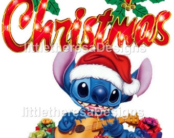 Stitch Christmas Iron On