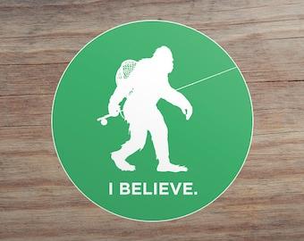 Fly Fishing Sticker Etsy