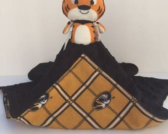 Ultra Plush and Snuggly University of Missouri Tigers Lovey