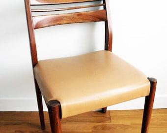 Scandinavian vintage 60s teak Chair