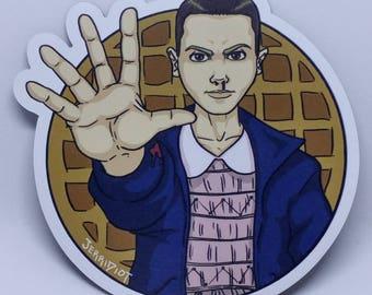 Eleven - Stranger Things Magnet