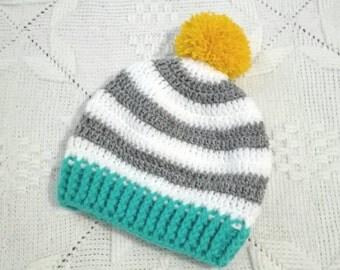 Crochet boy's hat