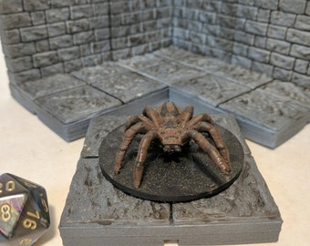 Giant Spider RPG Miniature