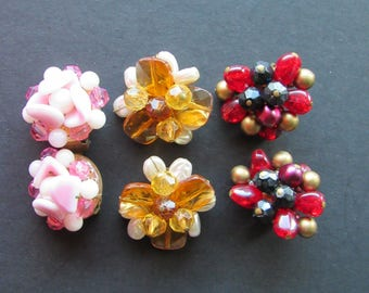 Vintage Clip Earrings West Germany