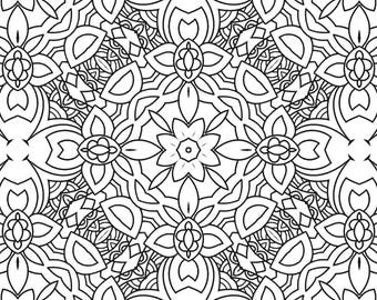 Colouring Book Pages - Design Pack 4