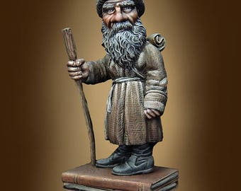 54mm collectible miniature, Leo by Cartoon Miniatures