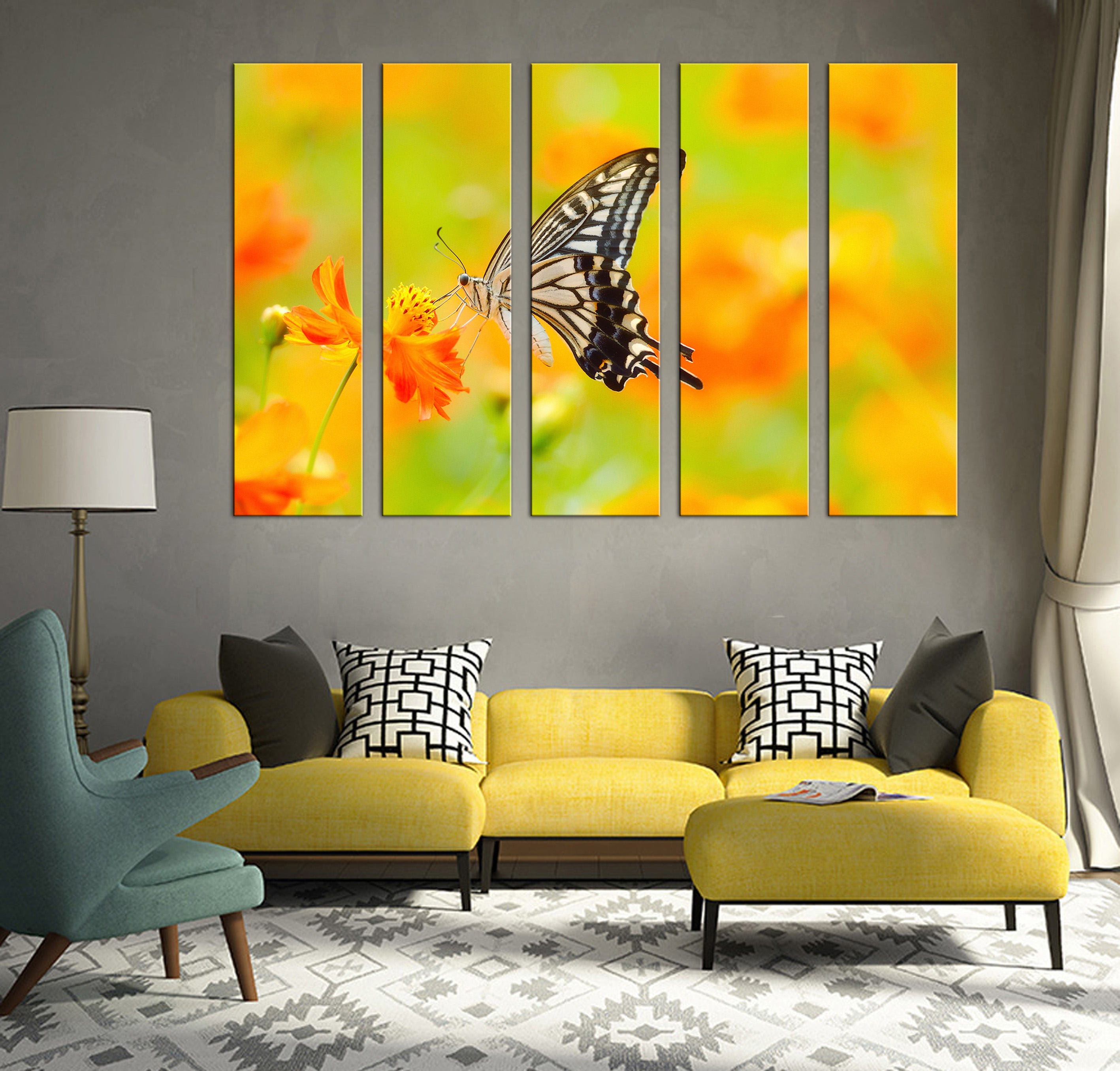 Awesome Wall Decor Art Canvas Ideas - The Wall Art Decorations ...
