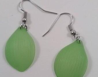 Green Seashell Earring
