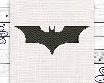 Batman embroidery Batman Discount 10% Machine embroidery design 4 sizes INSTANT DOWNLOAD EE5030
