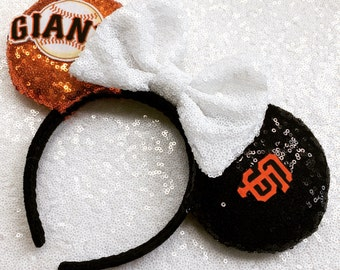 San Francisco Giants Baseball Mickey Mouse Ears