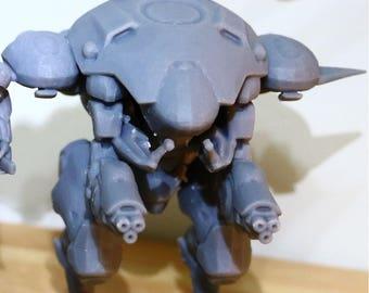 80mm D-VA figurine - Overwatch