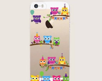 Ultra Thin, Owl Pattern Design, IPhone 7 Plus. phone Cover
