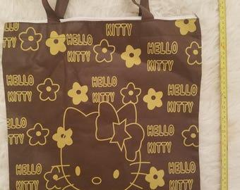 Hello Kitty Fabric Tote Bag