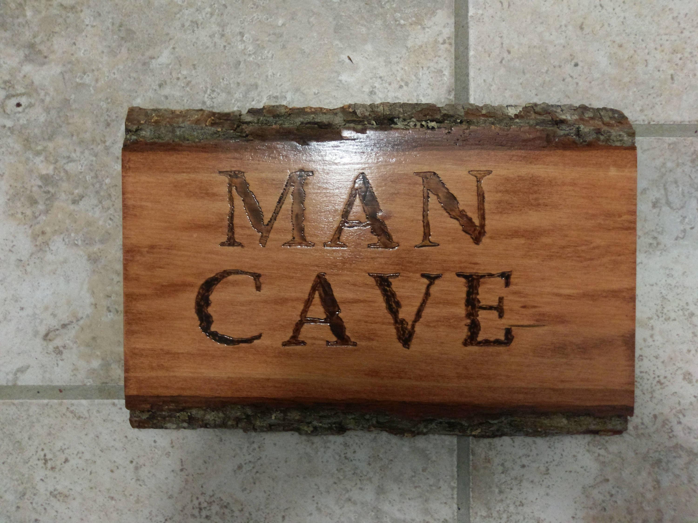 Rustic Man Cave Sign : Rustic man cave sign