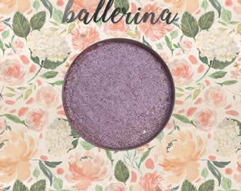 Ballerina, 26 mm single pan eyeshadow, shimmer muted lilac