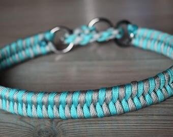 Paracord Dog Collar - Fishtail braid