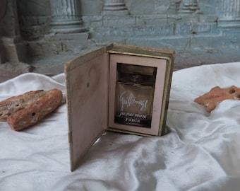 petit flacon à parfum de collection, 1 ère taille, parfumerie Jacques Griffes, Griffonnage vient de paraître dans son coffret livre