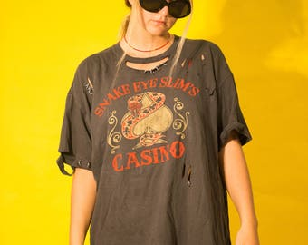 Hooks and Ladders T-Shirt Dress
