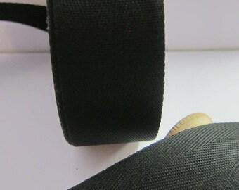 Ribbon Twill black 32.5 mm