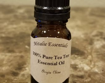 100% Pure Therapeutic Grade Tea Tree Essential Oil