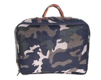 camouflage toilet bag