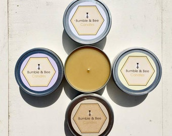 All Natural Beeswax Candles