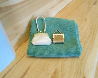 Vintage Doll Purses/Vintage Doll Accessories/Small purses for doll or child