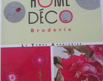 "Book ""Home Decor embroidery""-decorate your interiors with embroidery"