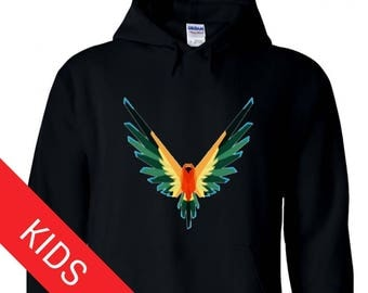 Logan Paul Kids Hoodie//Maverick//Logan Paul Sweatshirt// Logan Paul Bird// Logan Paul Sweater//