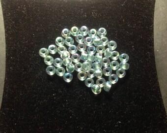 Perle Miyuki 4 mm Blue Crystal