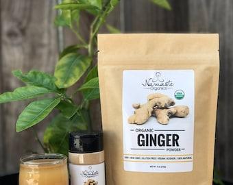 USDA Certified Organic Ginger Powder
