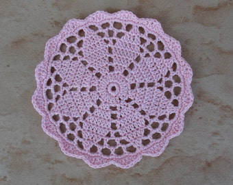 Doily rose pale 10 cm flower 8 petals