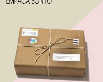 LABEL of sender / recipient