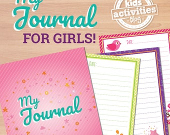 Printable Journal for Girls for Home or School