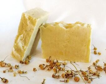 SALE Lavender Chamomile Soap- Facial/ Body Soap, All Natural Soap, Lavendar/Chamomile Scented, Cold Process Soap