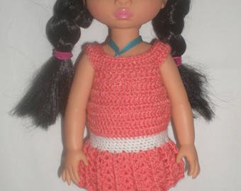 outfit for disney animators crocheted low waist dress