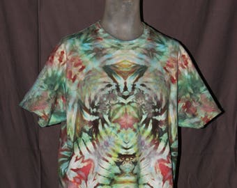 Handmade Ice Tie-Dyed T-Shirt: X-Large