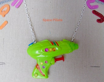 LaserBlast Gun Necklace