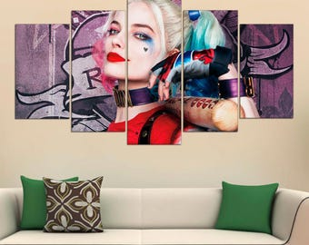 Harley quinn gift etsy for Harley quinn bedroom designs