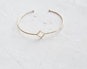 Star Bangle - Dainty Bangle Bracelet - Gold Bangle - Dainty Bracelet - Gold Bracelet - Minimalist Jewelry