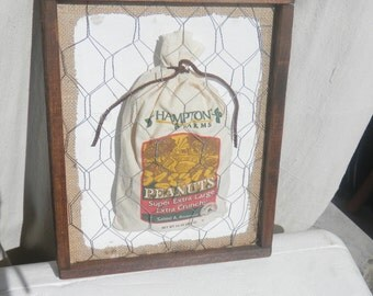 Country Framed Vintage Bag
