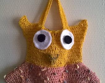 pretty little purse for little girl OWL