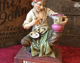 Lionstone The Potter / Whiskey Decanter/ 1974 / European Workers Series