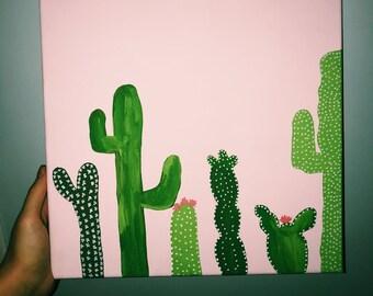 Cactus Canvas